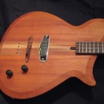 Electric tenor guitar